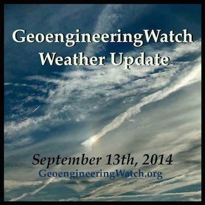 September 13 Update | geoengineeringwatch weather update september 13th 2014