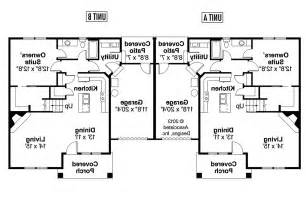 duplex plans for corner lots