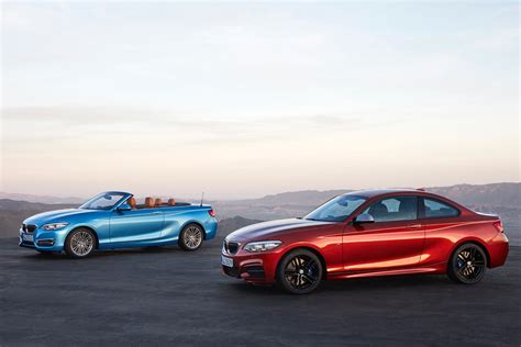 Bmw 2er Us Gitter by World Premiere Bmw 2 Series Coupe And Convertible Facelift