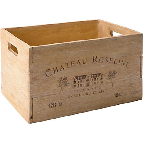 Wine Crate Planter by Wine Crate Garden Planter 45cm
