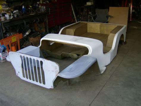 Fiberglass Jeep Jeep Fiberglass Parts