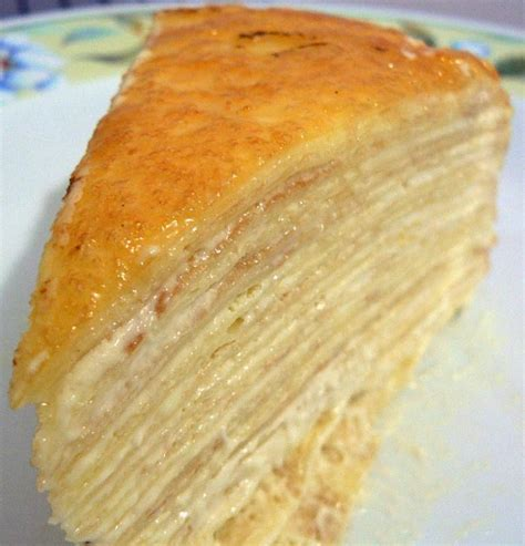 Mille Crepes Cake the wondrous mille crepe cake a whiff of lemongrass