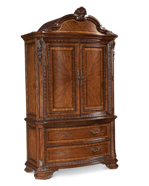 armoire base a r t furniture inc old world armoire base and top
