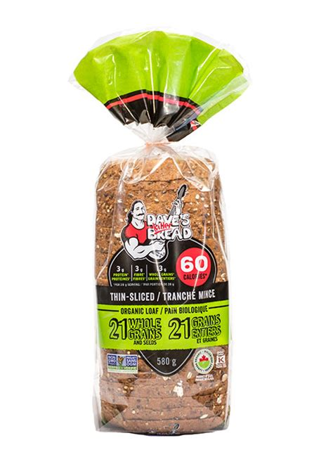 21 whole grains bread 21 whole grains and seeds thin sliced dave s killer bread