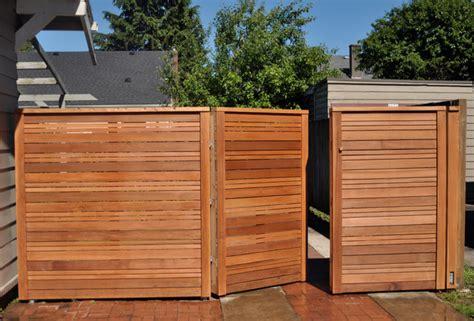 Modern Fence/Gate   Modern   Landscape   portland   by