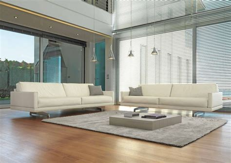 contemporary furniture ideas living room contemporary living room with white leather sofa and