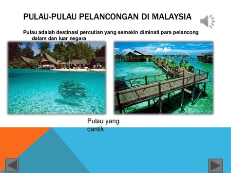 2 Di Malaysia pulau pulau pelancongan di malaysia