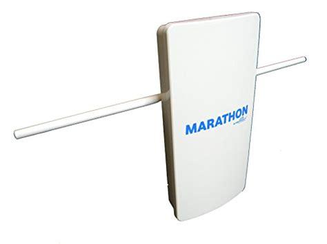 marathon hdtv long distance amplified indoor outdoor digital tv antenna long range high