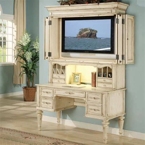 Shabby Chic Office Desk Shabby Chic Desk Shabby Chic Computer Desk With Optional Tv Hutch Writing Desks Shabby