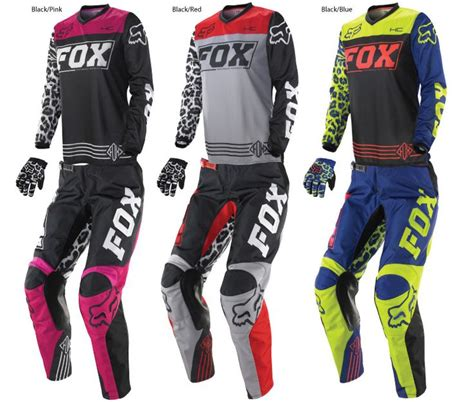 womens motocross gear fox 2014 womens hc 180 jersey pant combo s mx