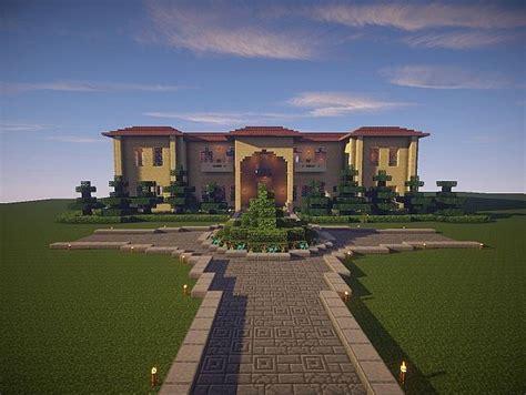 building a mansion the sandstone mansion minecraft house design