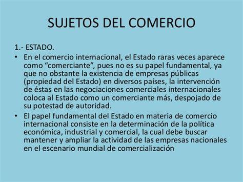 el estado y la empresa tema 2 ii objetos del comercio internacional contempor 225 neo iii