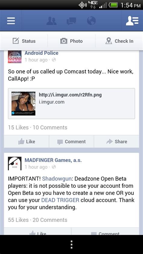 fb app for android for android app updated with improved