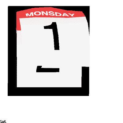 Calendar Gif Transparent Animated Gif