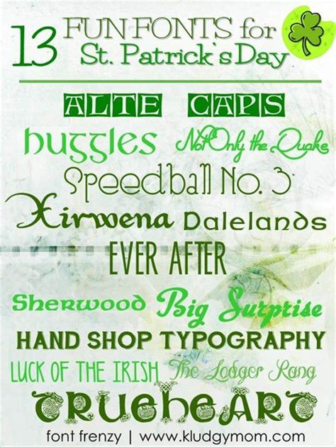 st font 1000 images about st patty s day on