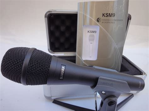 Mic Condensor Shure Ksm 888 shure ksm9 image 1402489 audiofanzine