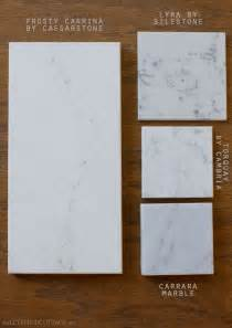 quartz choices that look like marble frosty carrina