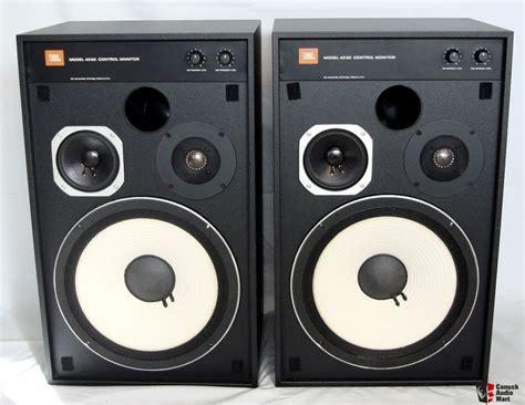 Speaker Monitor Jbl Jbl 4312c Monitor Speakers Photo 627661 Canuck Audio Mart