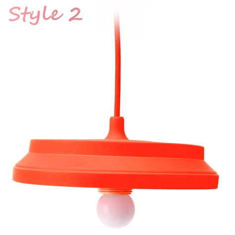folding lshade colorful silicone e27 l holder