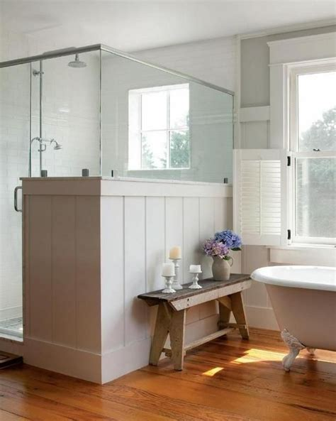 farmhouse bathroom ideas 32 cozy and relaxing farmhouse bathroom designs digsdigs
