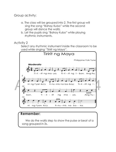 little pattern rockeye lyrics k to 12 grade 3 learning material in music