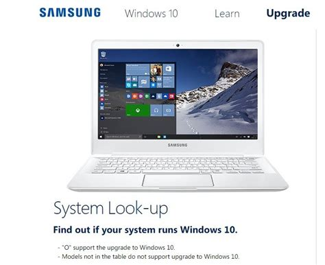 install windows 10 netbook samsung advises against installing windows 10 on its