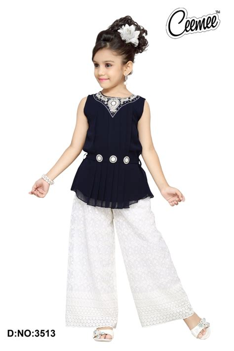 girls dess plazo dess photo latest stylish girls dresses plazo suit buy girls