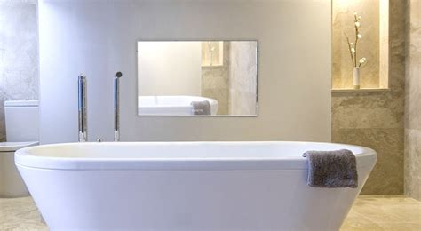 How To Install Tv In Bathroom by Hide Tv Mirror Tv Solutions To Make Your Tv Disappear