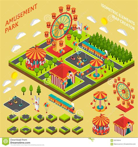 theme park editor amusement park clipart map www imgkid com the image