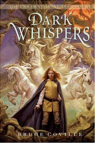 whispers feathers and book 3 books whispers unicorn chronicles 3 by bruce coville