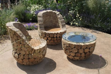 Handmade Outdoor Wood Furniture - unique outdoor furniture handmade from oak wood home