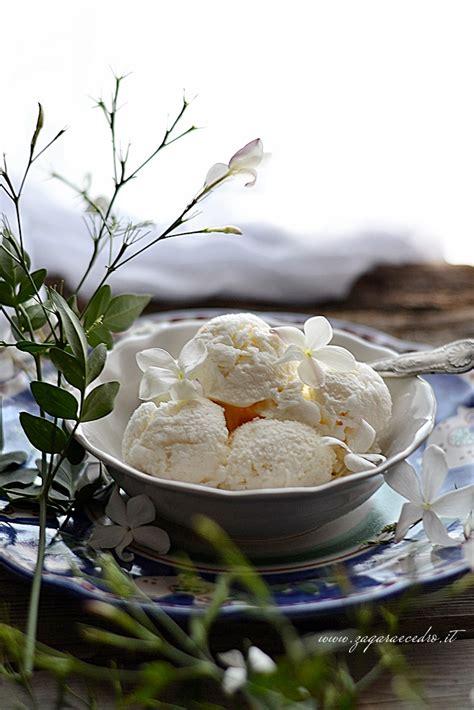 fiori di gelsomino gelato al gelsomino zagara e cedro