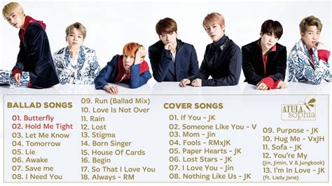 Bts Songs | bts 방탄소년단 ballad cover songs best song of bts pt 6