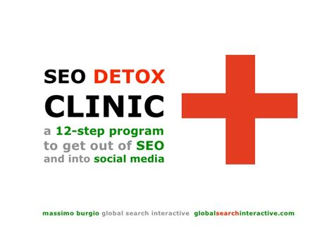 Find Detox Bed Finder Massachusetts by Seo Detox From Seo To Social Media Optimization In 12