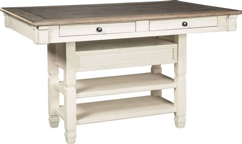 White Counter Height Dining Table Bolanburg White And Gray Rectangular Dining Room Counter Table D647 32