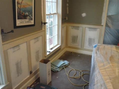 Craftsman Wainscoting by Need Some Help Advice With Craftsman Style Wainscoting