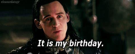 Thor Birthday Meme - my gif my edit happy birthday tom hiddleston loki bday