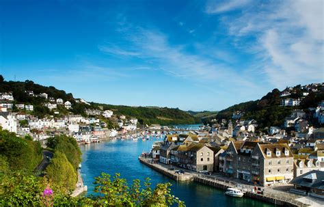 Pictures Of Small Houses England Houses Rivers Looe Cornwall Cities Wallpaper