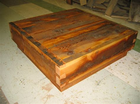 reclaimed timber coffee table dovetailed reclaimed timber coffee table
