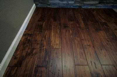 "7.5"" Hand Scraped Sonoma Acacia Hardwood Flooring for"