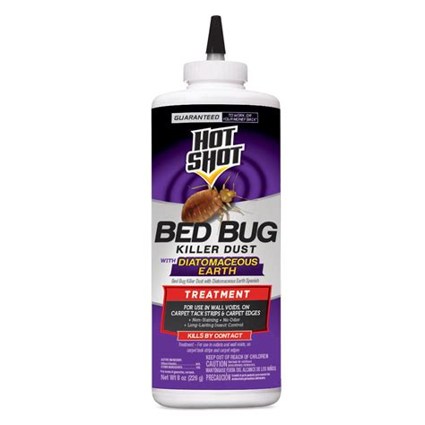 bed bug dust hot shot 8 oz bed bug killer dust hg 96446 the home depot