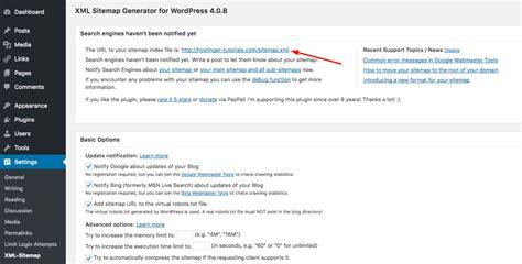 membuat sitemap xml wordpress cara membuat sitemap di wordpress