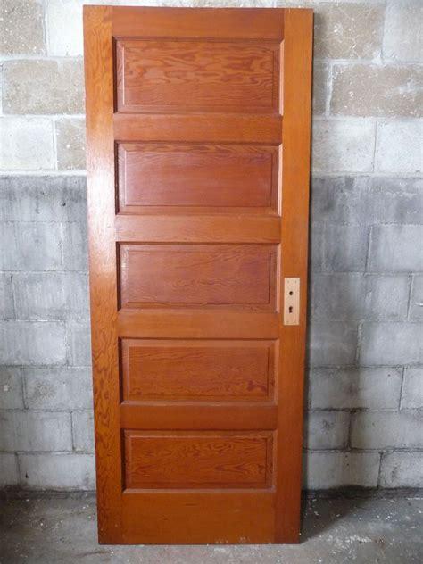 salvage interior doors antique craftsman style interior door circa 1910 fir