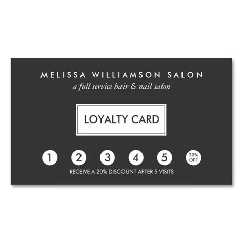 loyalty card template 1570 best customer loyalty card templates images on