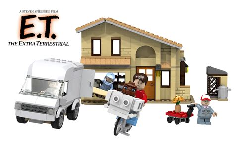 lego ideas e t the terrestrial return home