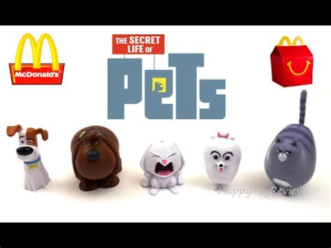 Happy Meal Mcdonald The Secret Of Pets 2016 mcdonald s the secret of pets next happy meal toys after the angry birds