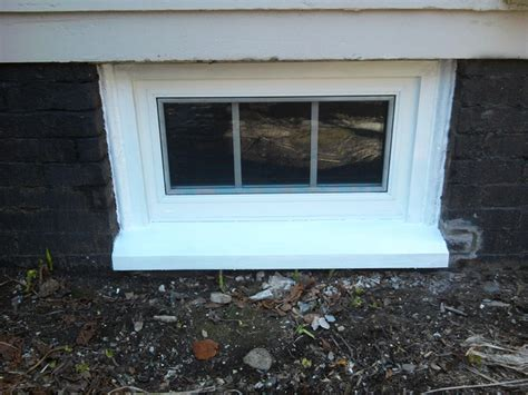 install basement window basement window installation greater portland homeworks llc