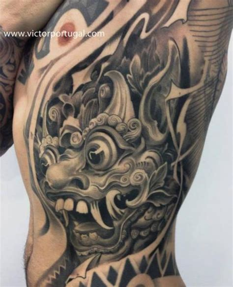 tattoo prices portugal side japanese demon tattoo by victor portugal