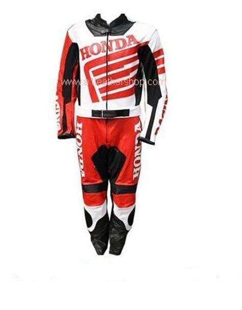 Motorrad Lederkombi Wei by Honda Motorrad Lederkombi In Schwarz Rot Wei 223 Farbe