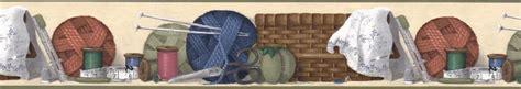 wallpaper borders for craft room sewing room scisor thimble wallpaper border 10035602 ebay